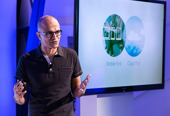 CEO Microsoft Satye Nadella