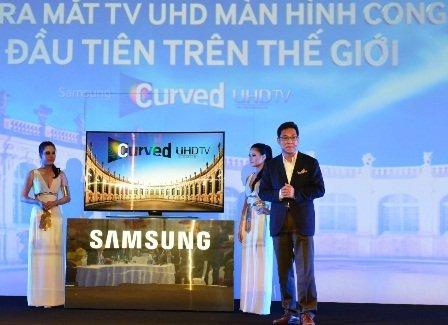 Samsung TV UHD Curve 1