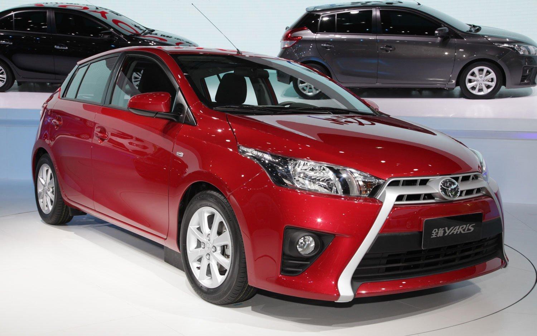 2014-Toyota-Yaris-Right-Front-Shanghai