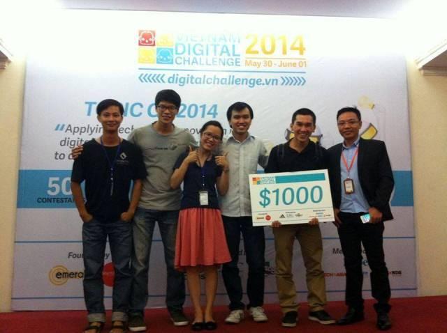 VDC 2014 Siri FC - winner
