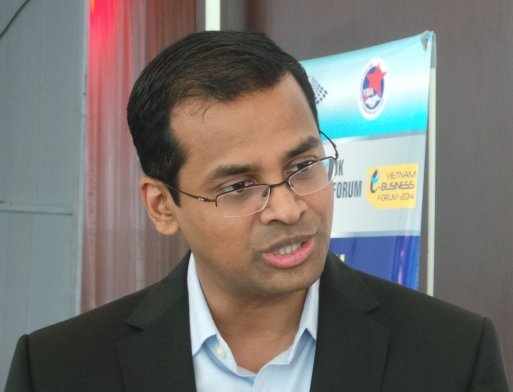 ông Arun Ulag Giám đốc Bộ phận Đám mây và Doanh Nghiệp Microsoft khu vực Châu Á Thái Bình Dương