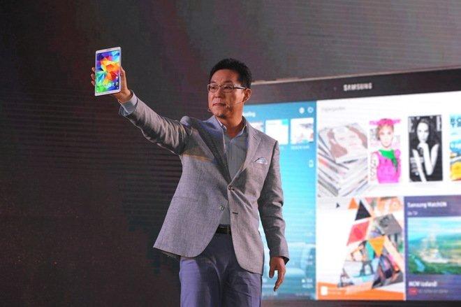Samsung Tab S launching