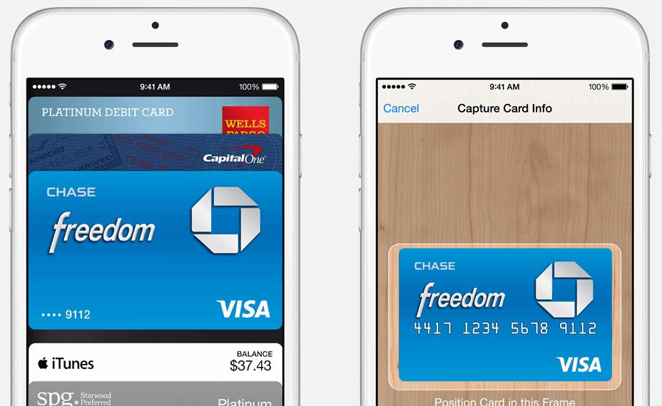 Hỗ trợ thanh toán trực tuyến trên thiết bị iPhone 6