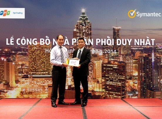 FPT Trading la nha phan phoi duy nhat cua hang Symantec tai Viet Nam