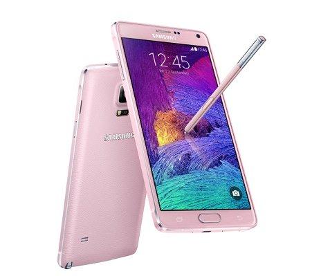 Samsung Galaxy Note 4 - pink