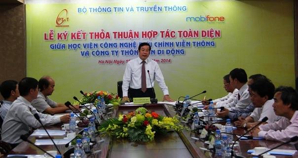 Bộ trưởng Nguyễn Bắc Son phát biểu