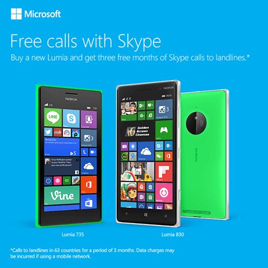 Skype Lumia
