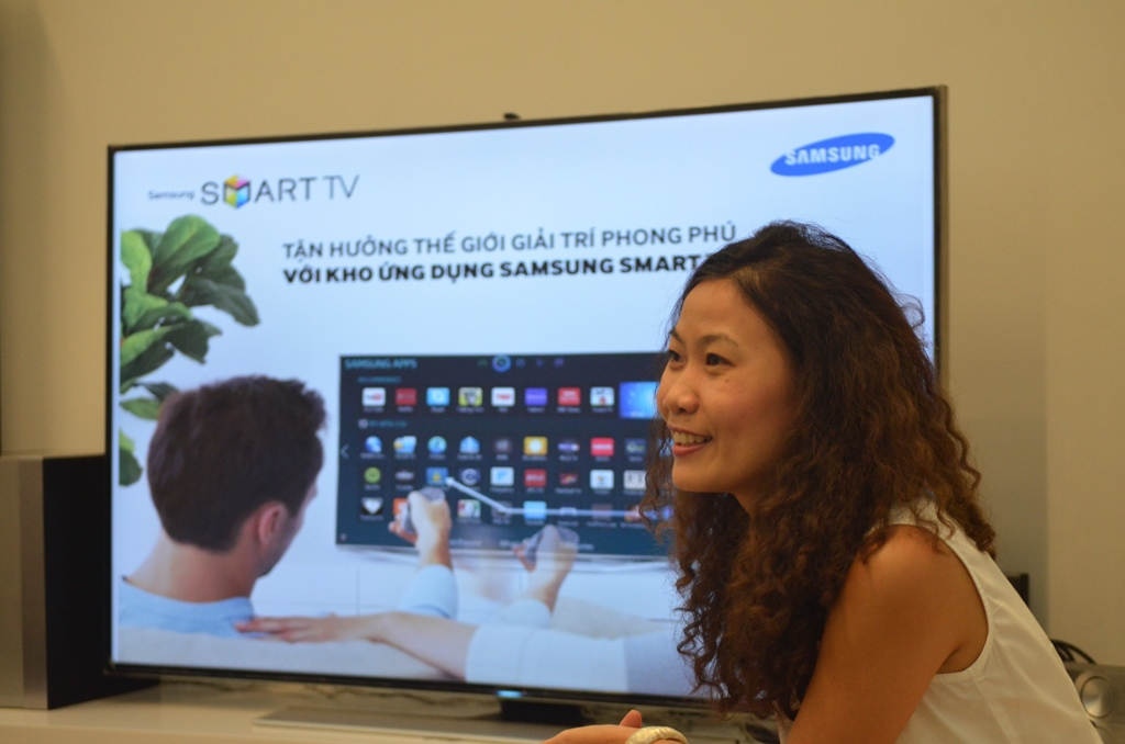 Đại diện Samsung chia sẻ cập nhật về tình hình sử dụng App trên Samsung Smart TV
