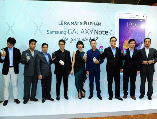 Samsung Note 4 launching