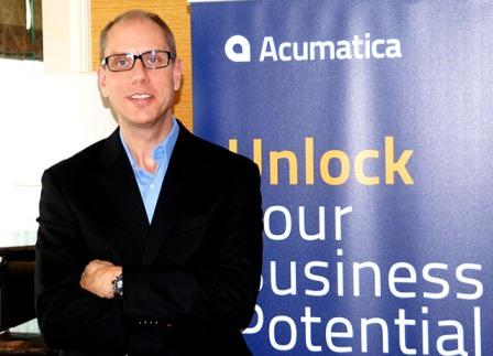 Ông Jon Roskil CEO Acumatica