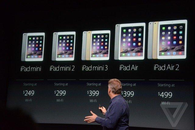 iPad mini với màn hình 79 inch