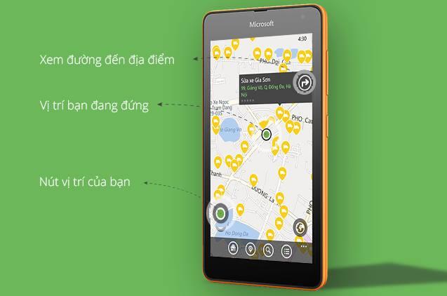 Coc Coc ra mat Nha Nha tren Windows Phone