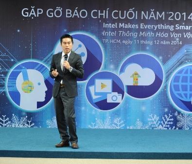 ông Trần Đức Trung - Tổng Giám Đốc Intel Việt Nam - chia sẻ về tổng quan về những thành tựu Intel đạt được trong năm 2014