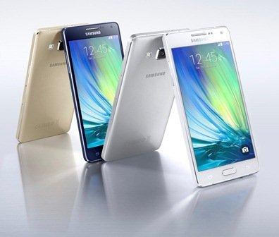 Ra mắt chiếc smartphone sang trọng và mỏng nhất của Samsung Galaxy A5 5