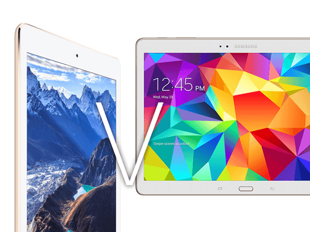 Tab S v.s iPad mini 2