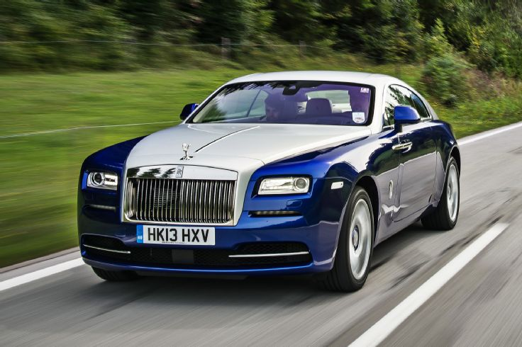 2014 rolls royce wraith three quarters