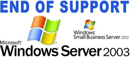 End-of-support-Server-2003-logo