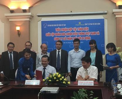 VNPT và MWG hợp tác kinh doanh