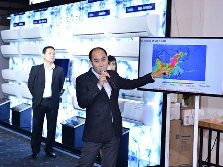 Panasonic giới thiệu 4 dòng máy điều hòa chủ lực năm 2015