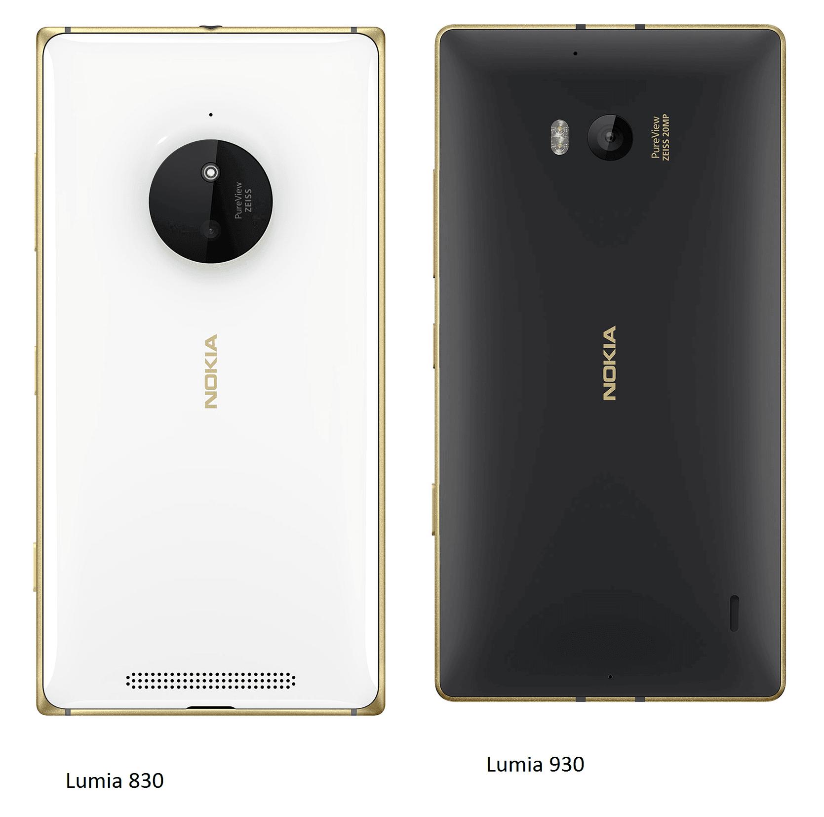 Microsoft ra mắt Lumia 830930 màu vàng