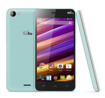 Wiko JIMMY compo1 turquoise orange