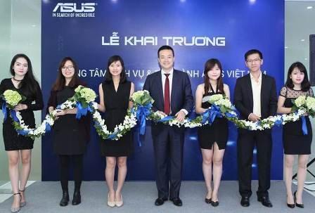 ASUS khai trương Trung tâm Dịch vụ bảo hành tại Hà Nội