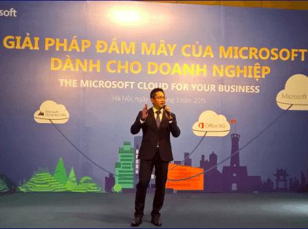 Microsoft khẳng định cam kết ưu tiên di động đám mây tại Việt Nam