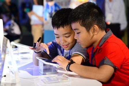 Samsung ra mắt dòng tablet Galaxy Tab V3 dành cho học sinh