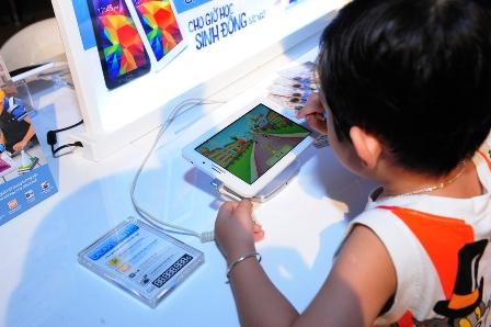 Samsung ra mắt dòng tablet Galaxy Tab V3 dành cho học sinh 2