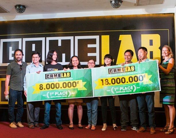 Game Jam Phase đoạt giải cao nhất trong GameLAB