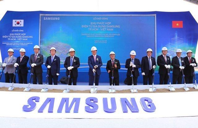 Samsung đầu tư 14 tỷ USD xây dựng khu phức hợp điện tử 1
