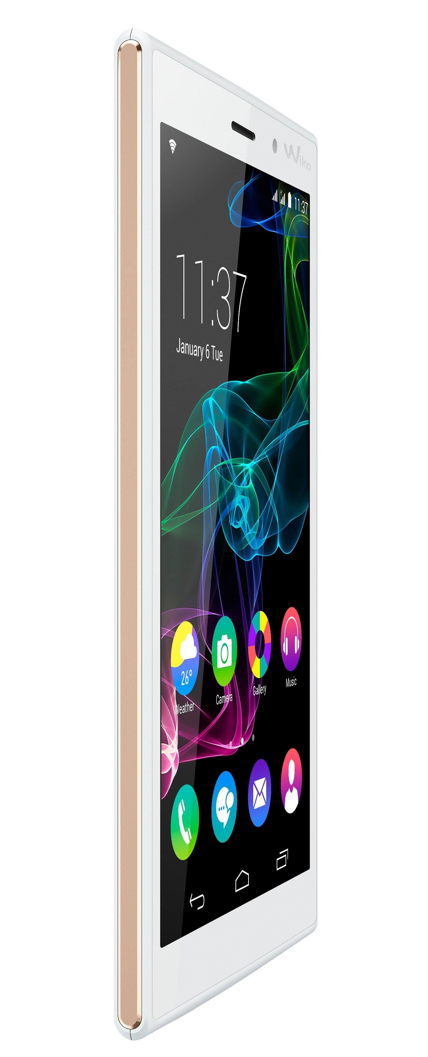 Wiko RIDGE-3G 3quart front-2 arctic gold