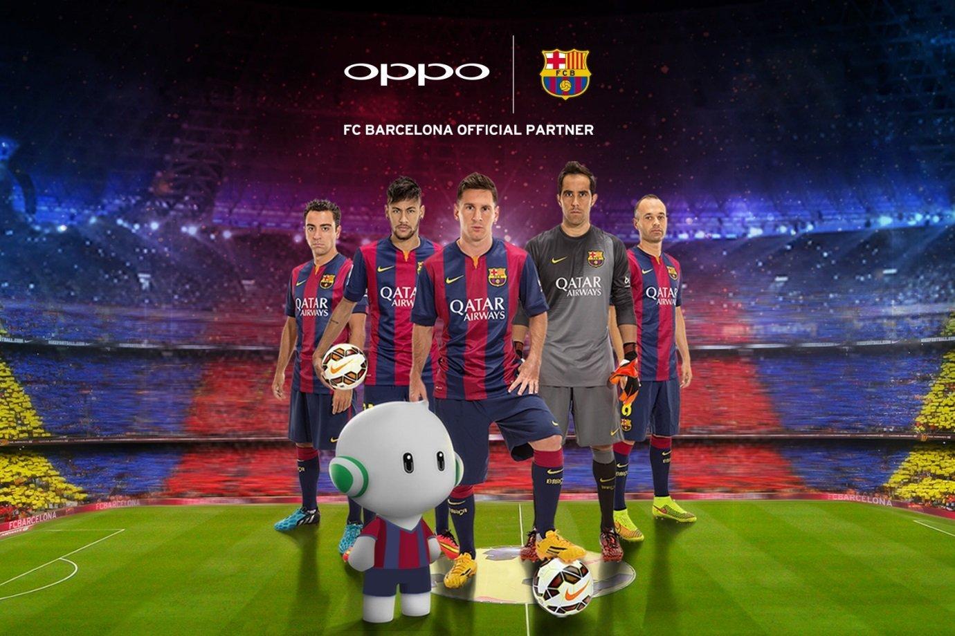 OPPO trở thành nhà tài trợ cho Barca