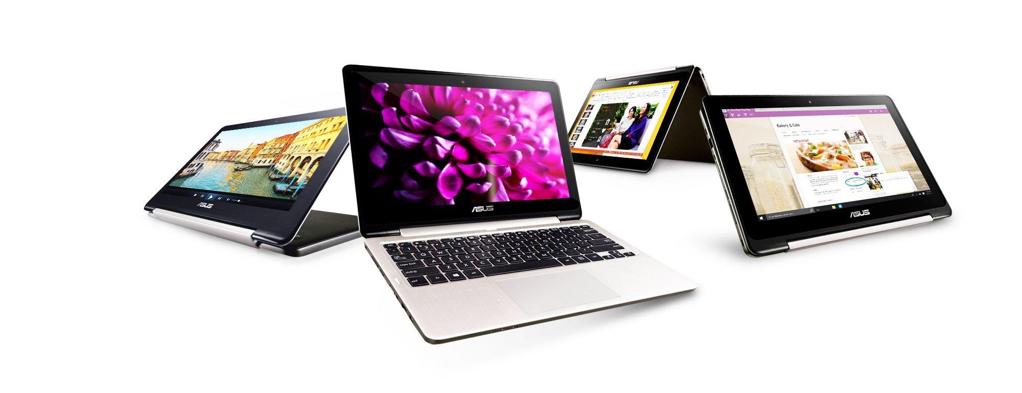 Nhiều cải tiến cho laptop 2-trong-1 Transformer Book Series