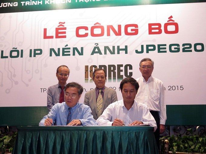 ICDREC thiết kế thành công lõi IP nén ảnh JPEG2000