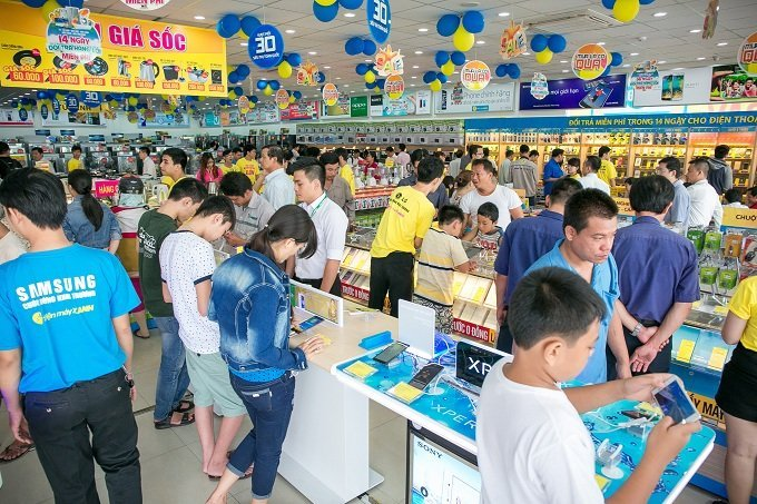 Khai trương siêu thị Điện máy Xanh lớn nhất hệ thống