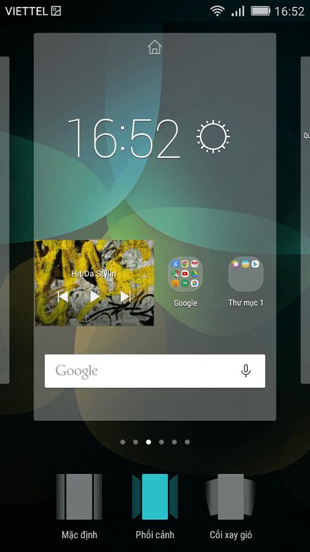 Tùy biến màn hình chính - Honor 4C