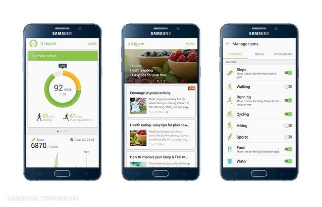 Những điểm mới trên S Health phiên bản 4.5 của Samsung