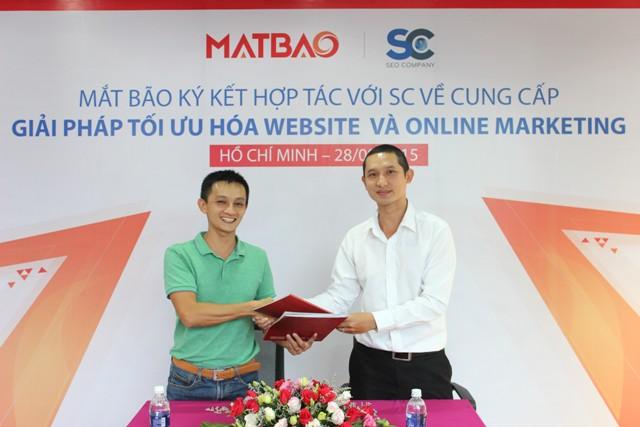 MatBao và SC hợp tác tối ưu hóa website cho doanh nghiệp