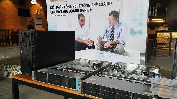Nhất Tiến Chung và HP giới thiệu giải pháp hạ tầng mạng thế hệ mới cho DN