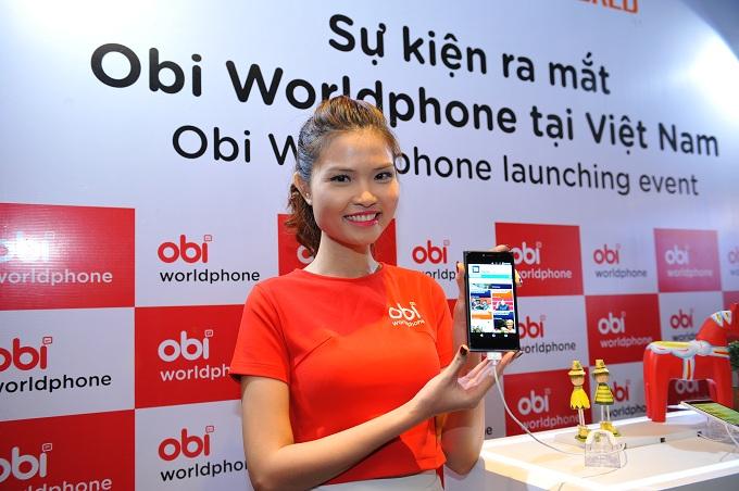 Ra mắt thương hiệu Obi worldphone tại Việt Nam