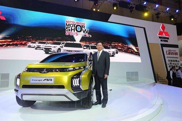 Mitsubishi Motors giới thiệu mẫu Concept AR tại Motor Show 2015