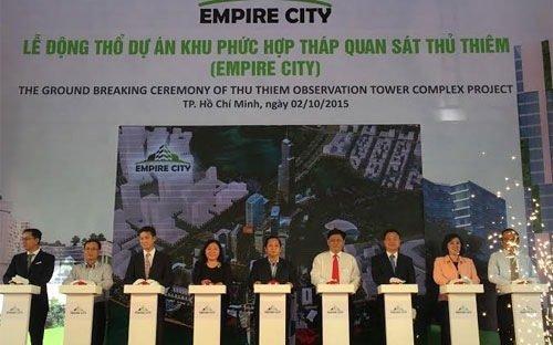 12 tỷ USD xây tổ hợp dự án Empire City ở Thủ Thiêm