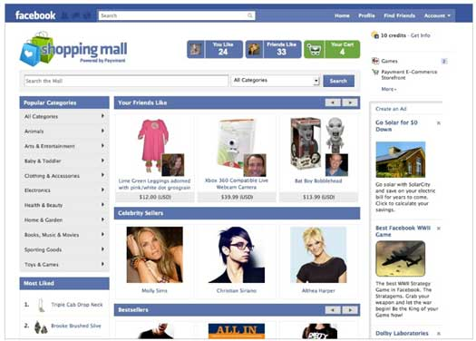 Facebook-Shopping-Mall