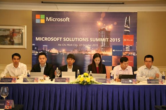Công cụ và giải pháp Microsoft giúp gia tăng năng lực cạnh tranh cho doanh nghiệp