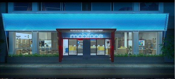 Mẫu thiết kế cửa hàng MobiFone