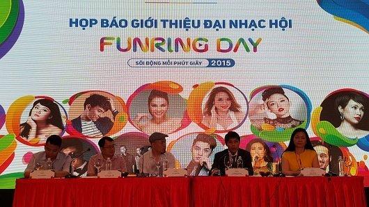 MobiFone tổ chức đêm nhạc Funring Day với 20 ngôi sao giải trí