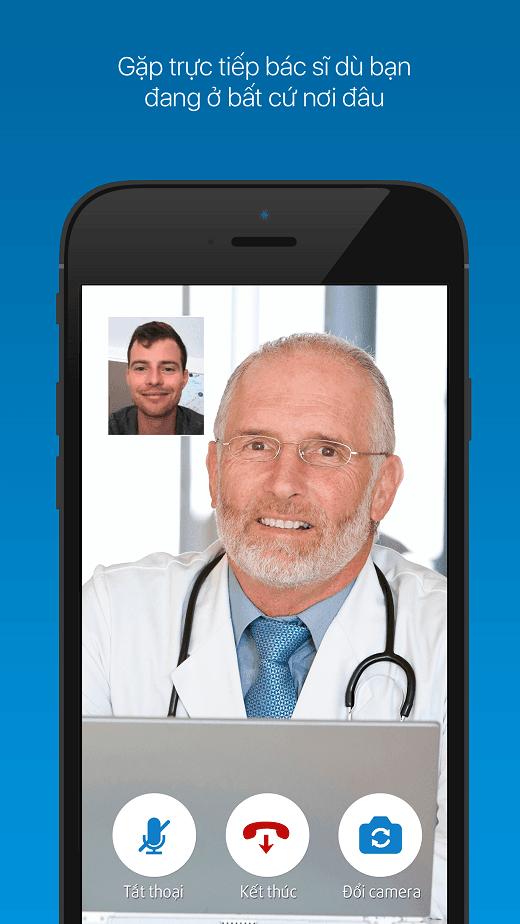 Tư vấn và hỏi đáp với bác sỹ với ứng dụng eDoctor