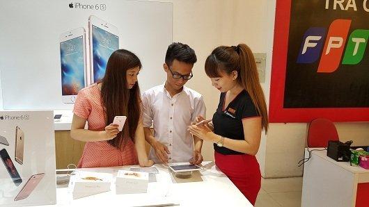 Mua iPhone 6s tai FPT Shop