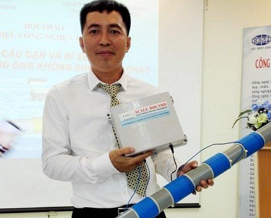 Dùng chip Việt để xử lý cáu cặn và rỉ sét
